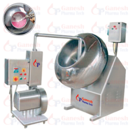 Coating Machine cGMP manufacturer in india