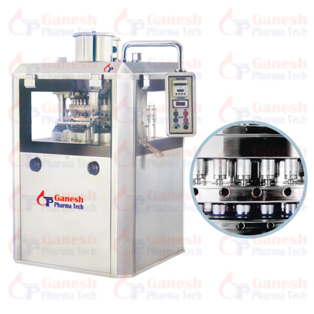Double Side Rotary Tablet Press manufacturer & Exporter India