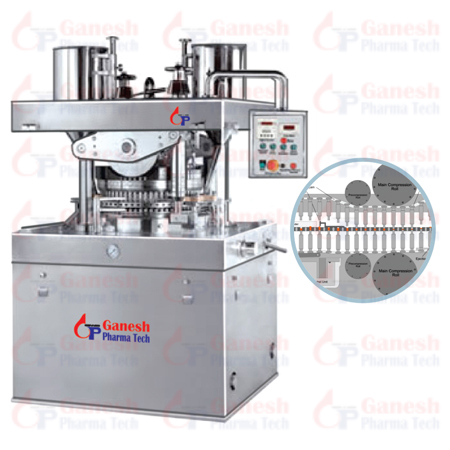 High Speed Tablet Press cGMP manufacturer in india