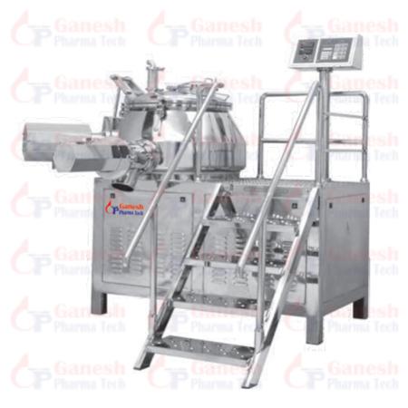 Rapid Mixer Granulator cGMP manufacturer in Ahmedabad