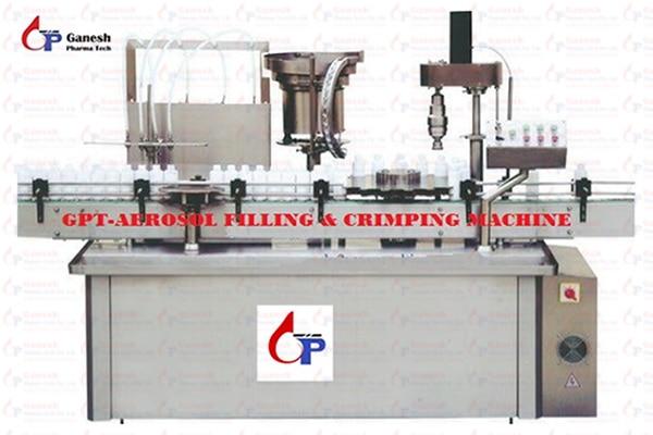 GPT-Aerosol Filling & Crimping Machine