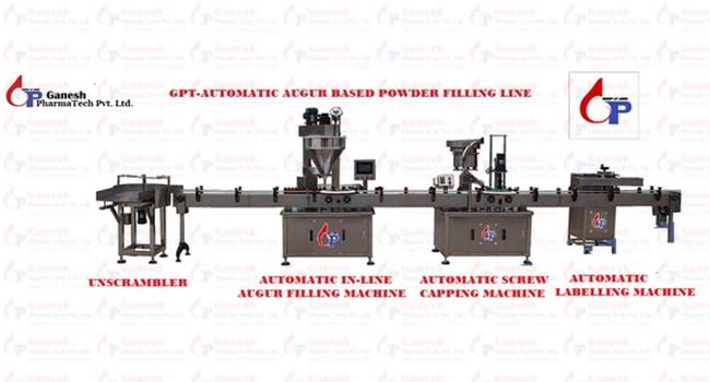 GPT-Automatic Augur Based Powder Filing Line